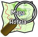 mapa hotela logo