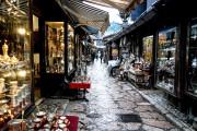 Sarajevo's Old town Bascarsija