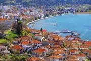 Coastal view of Ohrid, Macedonia
